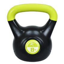Füles súlyzó - Kettlebell, műanyag, 8 kg LIFEFIT