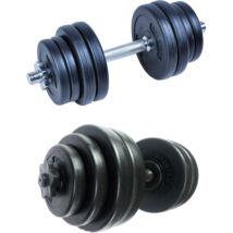 Kézisúlyzó készlet, 10 kg S-SPORT 1658