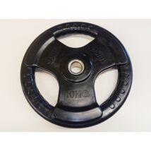Súlytárcsa, 31 mm, gumírozott, 10 kg S-SPORT