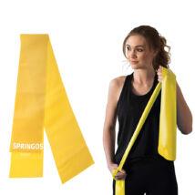 Erősítő gumiszalag, sárga SPRINGOS X-LIGHT