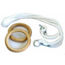 Fa gyerek gyűrű 1,7 m kötéllel S-SPORT