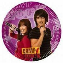 Camp Rock party tányér