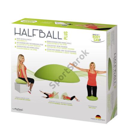 Ralaxációs ülő- és fitnesz labda JOHN HALFBALL PLUS-SPORTSAROK