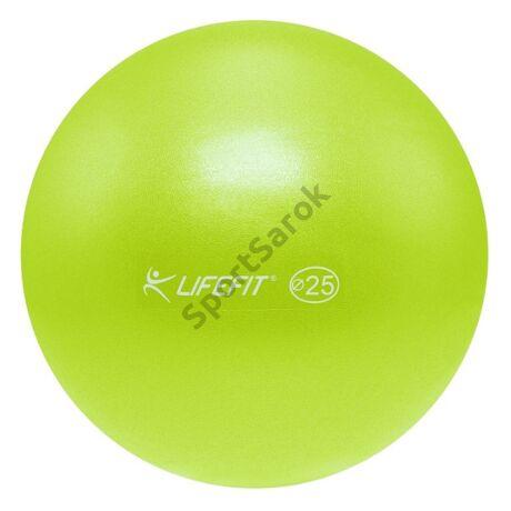 Over ball (soft ball, pilates labda) LIFEFIT 25 cm GREEN-Sportsarok