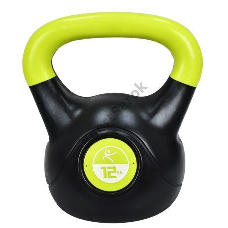 Füles súlyzó - Kettlebell, műanyag, 12 kg LIFEFIT-Sportsarok
