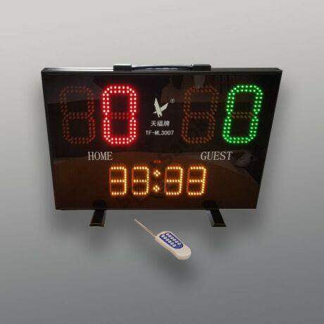 Elektronikus ledes eredményjelző távirányítóval LEAP-Sportsarok