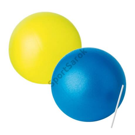 Over ball (soft ball, pilates labda), 21 cm, sárga TREMBLAY PR8 - SportSarok