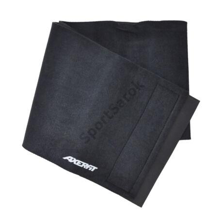 Fogyasztó öv 20 cm széles AXER BLACK - SportSarok