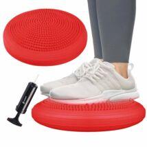 Masszázs- és egyensúlypárna (Dynair) - piros SPRINGOS PRO