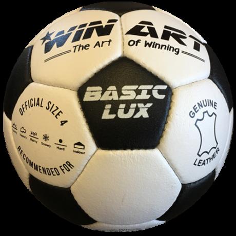 Bőr focilabda, 4-s méret WINART BASIC - SportSarok
