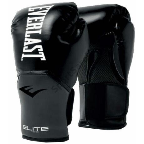 Everlast Bokszkesztyű 10 unciás, Fekete - Elite Training Gloves
