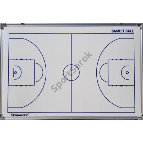Taktikai tábla kosárlabdázáshoz, 90×60 cm-s WINART - SportSarok