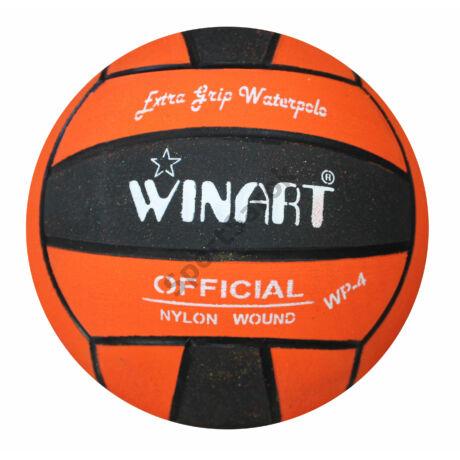 Vízilabda, 4-s méret, narancs-fekete WINART - SportSarok