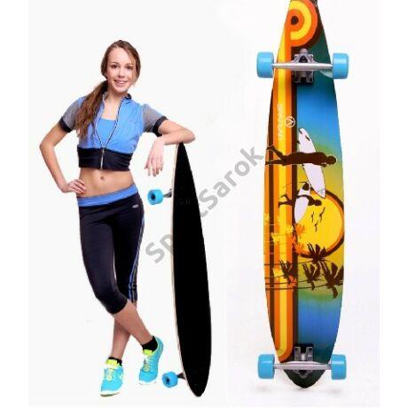 Longboard gördeszka, színes SPARTAN 205-02 - SportSarok