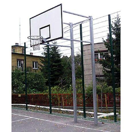 Streetball kosárlabda állvány, 2 oszlopos, fix S-SPORT-SportSarok