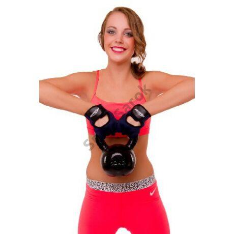 Füles súlyzó, fém - Kettlebell, 8 kg SPARTAN - SportSarok