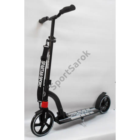 Roller, rugós SPARTAN DOUBLE SUSPENSION BLACK - SportSarok