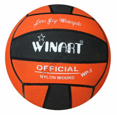 Vízilabda, 5-s méret, fekete-narancs WINART  - SportSarok